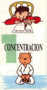 Karate 1 - Concentración