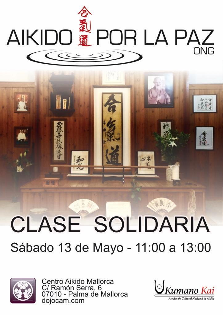 Cartel Clase solidaria