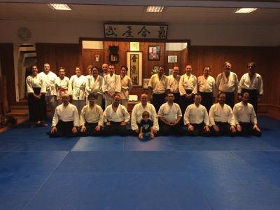 Clase conjunta de Aikido